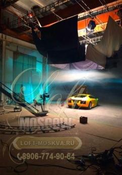 Ангары для организации фотосъемки автомобиля