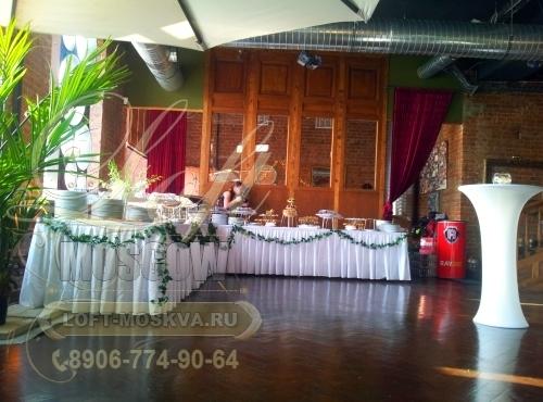 Стильный зал для свадьбы в центре Москвы