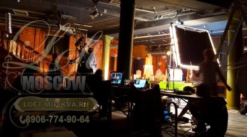Снять студию под видеосъемку Москва
