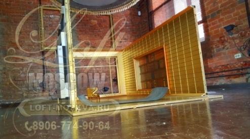 изготовление и строительство декораций для съемок в Москве