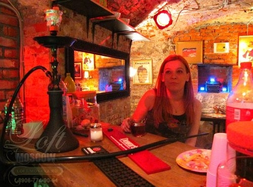 Анти кафе с дешевыми кальянами в Москве