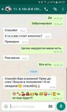 Отзывы о проведении дн рождения в лофт Москва