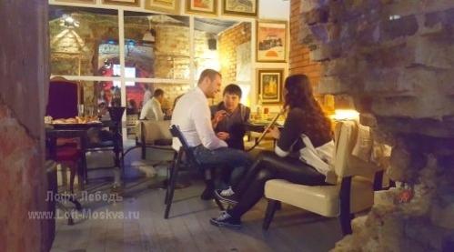 кафе с кальянами в центре Москвы