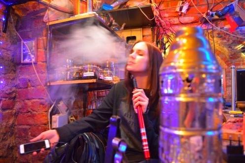 бар с кальяном в Москве недорого