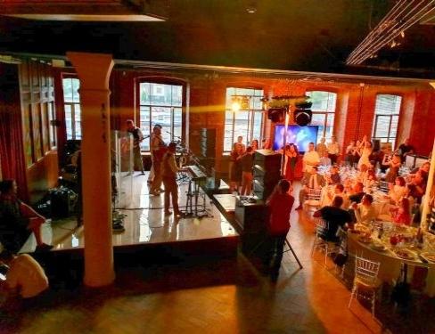 Лофт для вечеринки на Красном Октябре