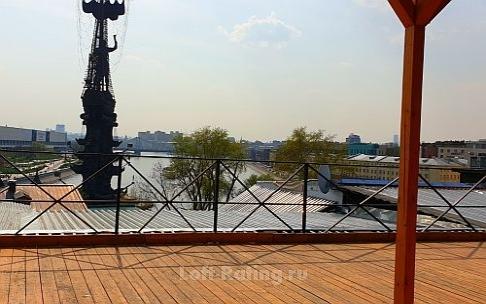 Аренда площадки с верандой в Москве
