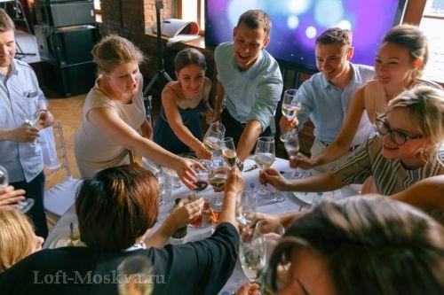 снять лофт для свадьбы Москва
