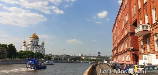 лофт с красивым видом в Москве