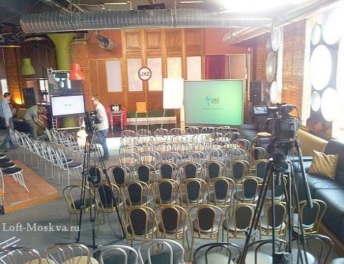 площадки для проведения презентации в Москве