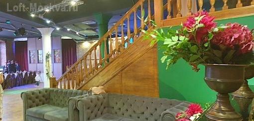 Банкетный зал в стиле лофт для свадеб в Мсокве
