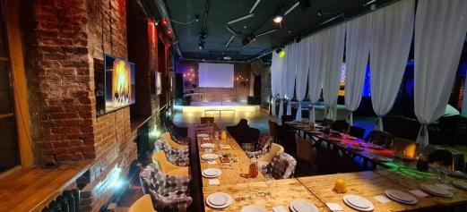 Отдельное помещение в ресторане для дня рождения