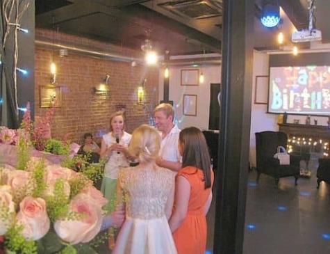 отпраздновать юбилей в лофт кафе Москва