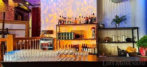 лофт с баром для праздника